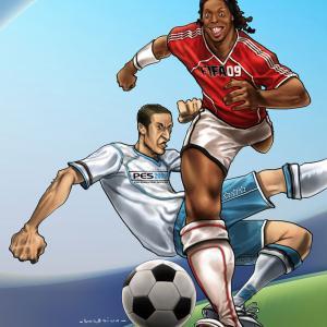 3DMedia Toonz! - PSM3 - Fifa vs PES